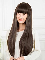 Fashion Girl Necessary Black Wig Long Detonation Model
