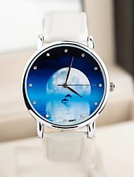 Mode-Shooting-Star Wassergehäuse europäischen Stil vintage Unisexuhren Sternenhimmel Uhr Männer und Frauen zu sehen