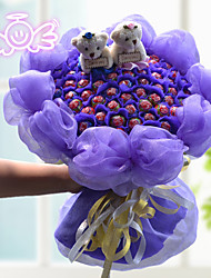 66 Edible Lollipop Flower Wedding Bouquets The Valentine's Day Gift
