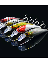 "5 pcs Hard Bait / Minnow / Lure kits / Fishing Lures Lure Packs / Hard Bait / Minnow Others 8 g/5/16 oz. Ounce mm/3-1/4"" inch,Hard Plastic"