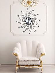 la personnalité de fer moderne mur de conception de diamant horloge