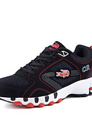 Sapatos Basquete Masculino Azul / Vermelho Courino