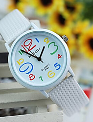 Women's Lovely Colorful Digital Leisure Quartz Belt Watch Cool Watches Unique Watches Fashion Watch