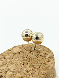 Stud Earrings Crystal Rhinestone Gold Plated Simulated Diamond 18K gold Fashion Gold Jewelry 2pcs