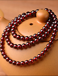 Natural Crystal Wine Red Garnet Bracelet Jewelry And Beads Bracelets Are a Multilayer Vanves Dr. Peach 0.5*0.5