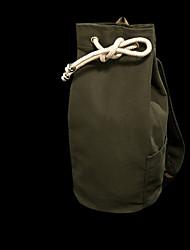Men 's Canvas Weekend Bag Backpack - Green/Black