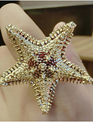 Ku Fashional High Quality New Arrival Starfish Ring