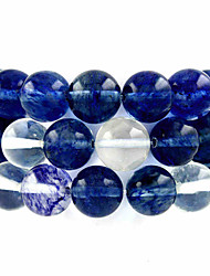 Beadia 39Cm/Str (Approx 98Pcs) Natural Watermelon Blue Quartz 4mm Round Blue Stone Loose Beads DIY Accessories