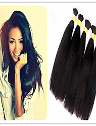 3Pcs/Lot Cheap 8a Unprocessed Virgin Hair Straight Braiding Human Hair Bulk cheap 300g Raw Brazilian hair