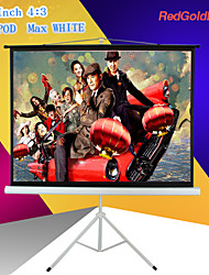 redgoldleaf 72 pulgadas pantalla 4: 3 proyector portátil con soporte