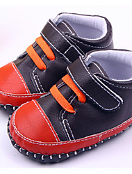 Zapatos de bebé - Sneakers a la Moda - Casual - Semicuero - Negro / Marrón
