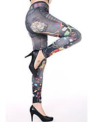 Women's Music Girl Dreamy Print Leggings