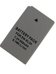 el24 bateria da câmera 850mAh para Nikon 1 j5