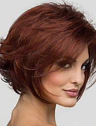 Short Synthetic Wigs Natural Wave Wig For African American Black Women Wig