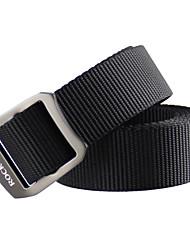 rockway® extérieur unisexe nylon solide boucle réglable Sport-loisir ceintures souples