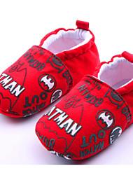 Zapatos de bebé - Mocasines - Casual - Tejido - Rojo