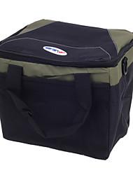 AC - 2783  Multi-Function Outdoor Picnic Warm/Preservation   Cold Food Preservation Handbag - Black +Green