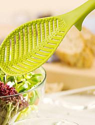 feuilles de riz en forme de filtre riz rondelle de crépine outil de lavage de maille passoire avec poignée (couleur aléatoire)