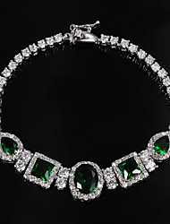plaqué chaude vente parti platine lien / chaîne galerie bijoux bracelet