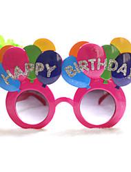 pc punny kleurrijke gelukkige verjaardag stijl geek&chique party bril