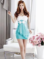 Women's Casual Dress Mini Cotton Blends