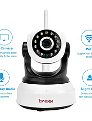 Boxkam Wireless Dual Stream 3.6mm Night Vision IR PTZ P2P IP Camera BX-P081
