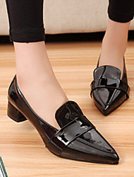 Women's Shoes Leatherette Chunky Heel Heels/Novelty/Pointed Toe/Closed Toe Pumps/Heels Party & Evening/Dress/Casual