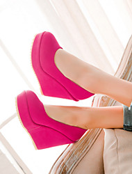 Damesschoenen - Pumps/Heels ( PU , Blauw/Grijs/Rood )met Sleehak - 10-12cm
