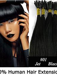 22 Zoll Keratin Stockspitze / i Spitze 0,5 g / s malaysische menschliche Haarverlängerungen 8 Farben für Frauen Schönheit