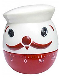 Fat Chef 60-minute Timer Kitchen Egg Cooking Alarm Clock Kitchen Aid