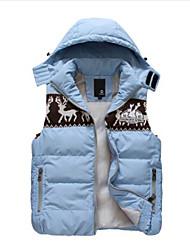 Men's Casual Sleeveless Regular Vest (Cotton)