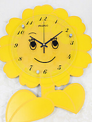 Small Sunflower Wall Clock