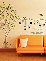 creativas pegatinas de pared marco de fotos naturales