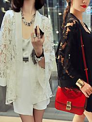 Women's Coats & Jackets , Chiffon/Lace Sexy/Casual/Work Long Sleeve M.f.y