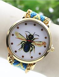 Руководство пчелы национальной переплетения юго стиль Корея DIY часы женской моды