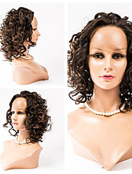 12inch Lace Front Hair Wigs Wavy Style Human Hair Malaysian Virgin Hair 100% Human Hair Lace Front Wigs for Women