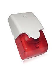 UV Prevention Burglar Alarm Siren With Strobe And Highly Resistant Abs Housing