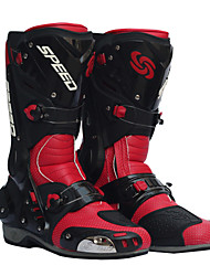 PRO-BIKER Motorcycle Racing Boots Riding Boots /Women's Shoes/Men's Shoes Black/Red/White Size 40-45