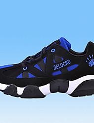 Men's Running Shoes Faux Leather Blue/White