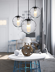 Pendent Light in Glass Ball Feature