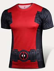 T-shirt ( Noir/Voir l'image ) deSki/Camping & Randonnée/Taekwondo/Chasse/Pêche/Escalade/Fitness/Courses/Sport de