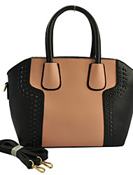 WeiYi Women's Fashion Popular Color Stitching Multi-Purpose Bag