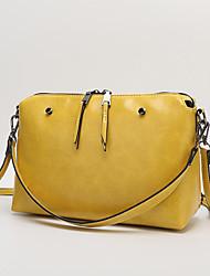 inleela®women 's pu bolsa de hombro baguette / totalizador - rosa / púrpura / amarillo / negro