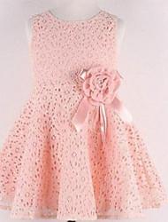 LULU  Kid's Sexy/Cute/Party Dress (Cotton Blend)