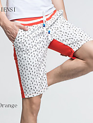 2015 men pants pants five cotton pants pants men's casual summer male Korean tide beach pants
