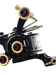 Solong Tattoo Handmade Tattoo Machine Gun Shader 10 Wraps Coils