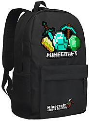 Minecraft backpack Enderman day pack New School bag Nylon rucksack Game daypack 047