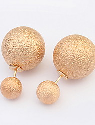 Damen Ohrring Legierung Stud Earrings
