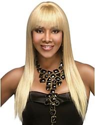capless longues de haute qualité droites mono top remy vierge perruques de cheveux humains 7 couleurs à choisir