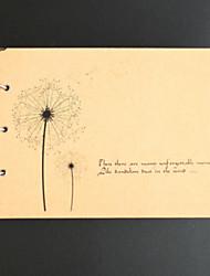 Album per foto ( Giallo , 51 - 100 ) - Floreale